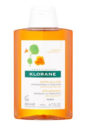 Шампунь с Настурцией от сухой перхоти Klorane Anti-Dandruff and Purifying with nasturtium 200 мл: фото