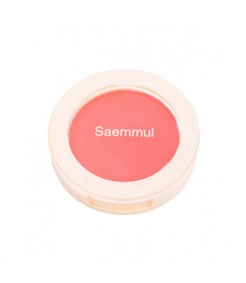 Румяна THE SAEM Saemmul Single Blusher PK01 Bubblegum pink 5гр: фото