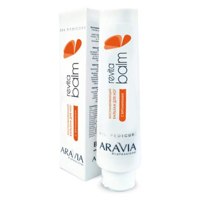 Бальзам для ног восстанавливающий с витаминами Aravia Professional Revita Balm 100 мл: фото