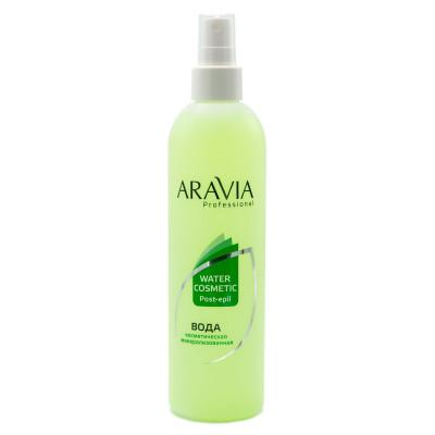 Вода косметическая минерализованная с мятой и витаминами Aravia Professional 300 мл: фото