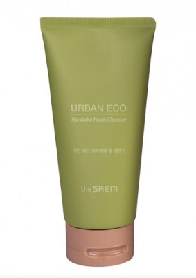 Пенка для умывания увлажняющая THE SAEM Urban Eco Harakeke Foam Cleanser 150г: фото