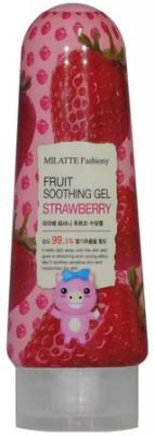Гель многофункциональный с экстрактом клубники MILATTE FASHIONY FRUIT SOOTHING GEL STRAWBERRY 200г: фото