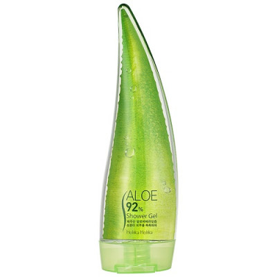 Гель для душа c экстрактом сока алоэ Holika Holika Aloe 92 Shower Gel AD, 250 мл: фото