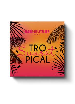 НАБОР КОСМЕТИЧЕСКИЙ MAKE-UP ATELIER PARIS TROPICAL SUNSET: фото