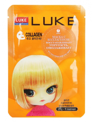 Маска с коллагеном 4Skin LUKE Collagen Essence Mask 21 г.: фото
