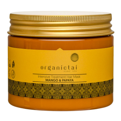 Маска для волос с манго и папайей ORGANIC TAI Intensive Treatment Hair Mask Mango & Papaya 150 мл: фото