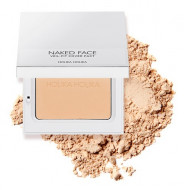 Пудра компактная Holika Holika Naked Face Veil-Fit Cover Pact 02 Natural Beige, натурально-бежевый 12 г: фото
