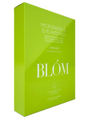 Микроигольные патчи для кожи вокуг глаз с янтарной кислотой BLÓM 4 пары: фото