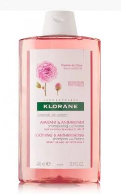 Шампунь успокаивающий с экстрактом Пиона Klorane Soothing Shampoo with Peony Extract 400 мл: фото
