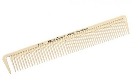 Расческа силиконовая комбинированная Triumf SILK LINE SL6 185 мм: фото