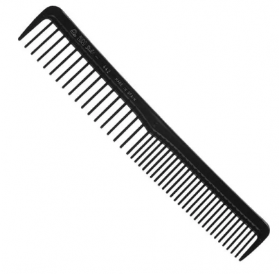 Расческа комбинированная с редкими зубчиками EUROSTIL 17,5см: фото