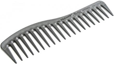 Расческа изогнутая с редкими зубчиками для холодной укладки TRIUMPH MASTER 175мм: фото
